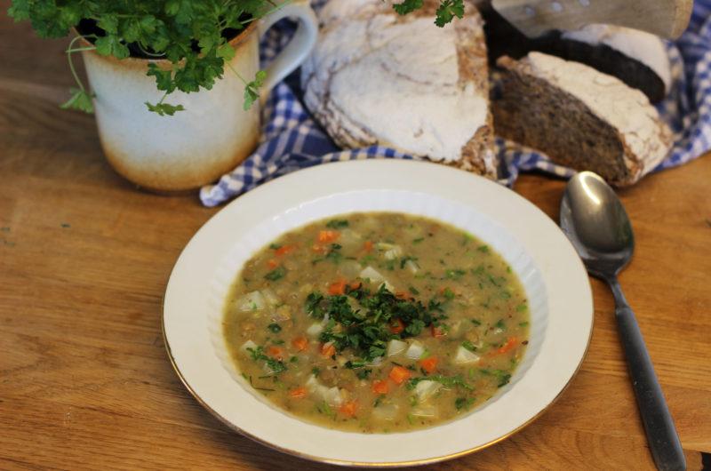 Čočková odlehčená polévka  od Viki