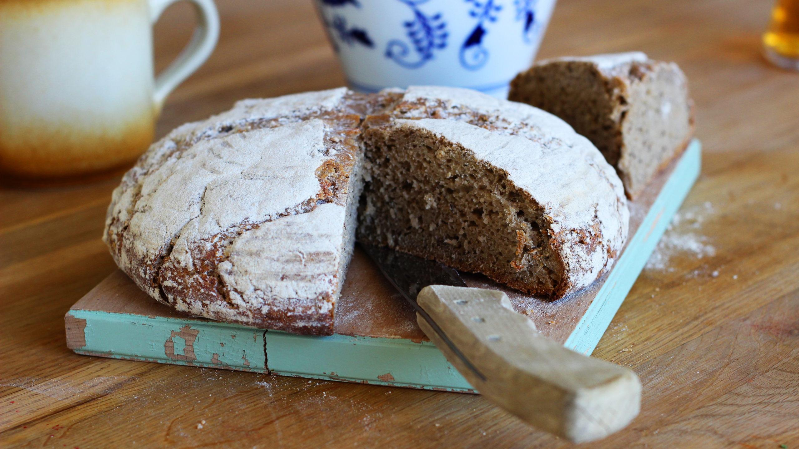 Domácí chléb kváskový